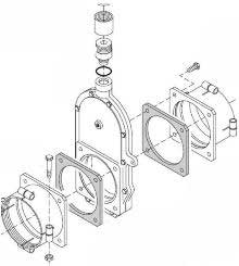 parts of a knife gate valve